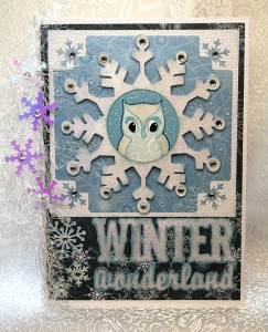 Snow Owl ~ Winter Wonderland