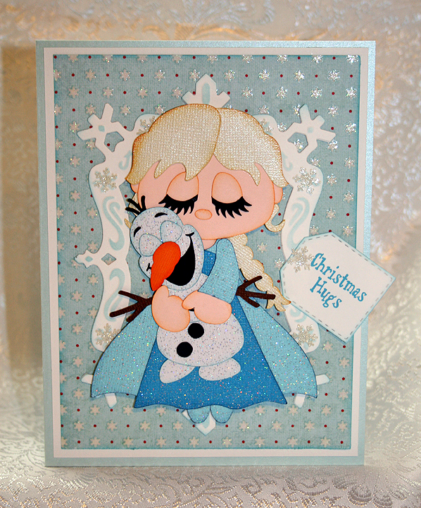Frozen Christmas Cards